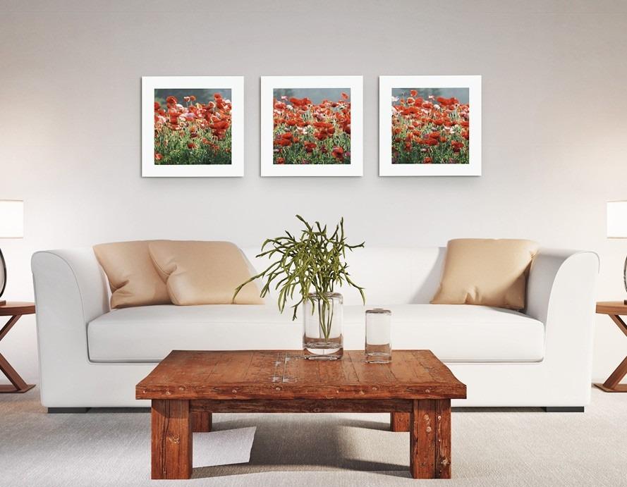 33b6d9fe0 Carregando zoom... quadros decorativos flores campo presente sala quarto  olilo