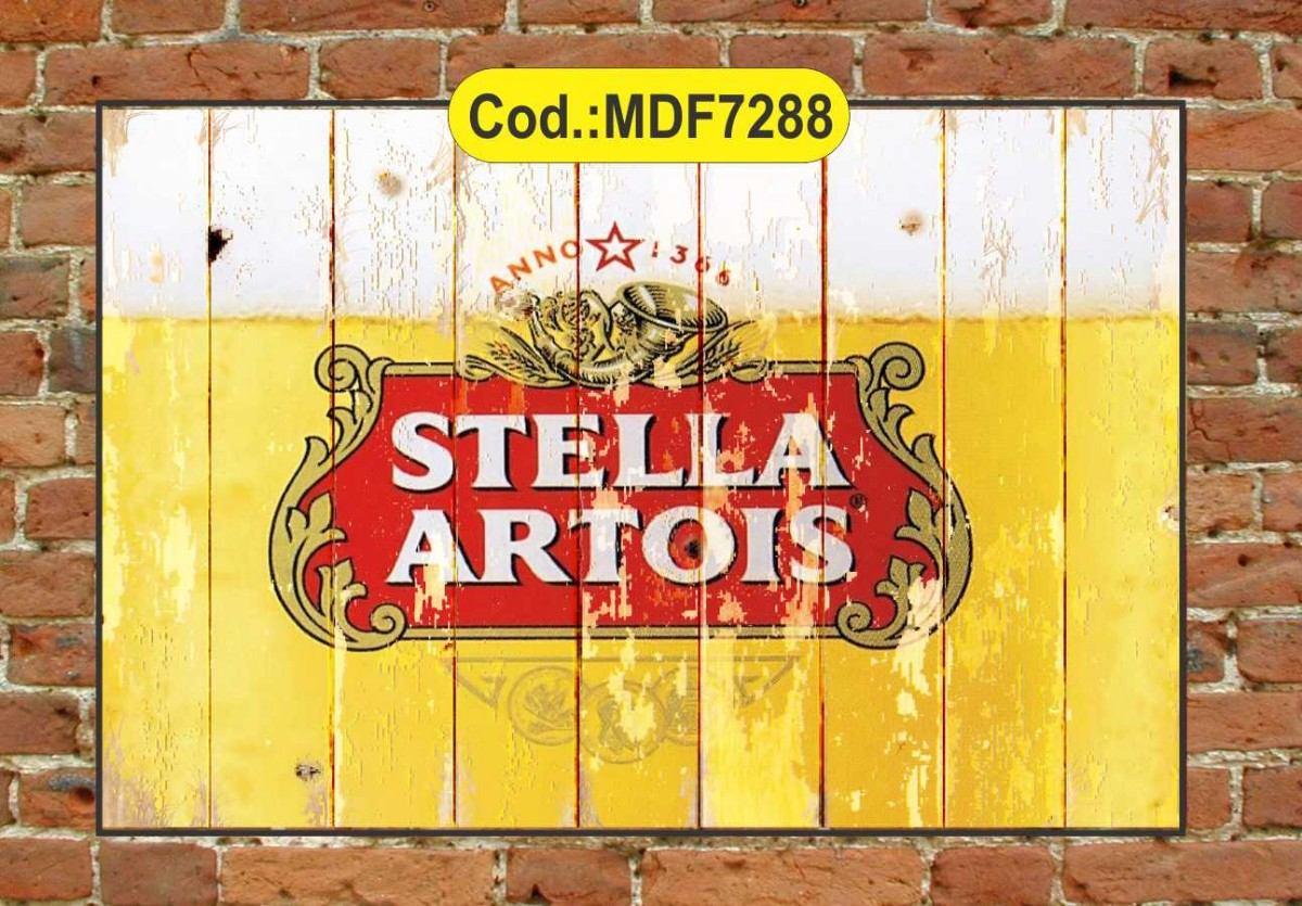 Quadros Decorativos Rústico Cervejas Vintage R$ 55 00 em Mercado  #BD9D0E 1200 835