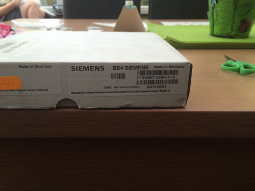 dect base station bs4 for hipath 3550 nueva marca siemens