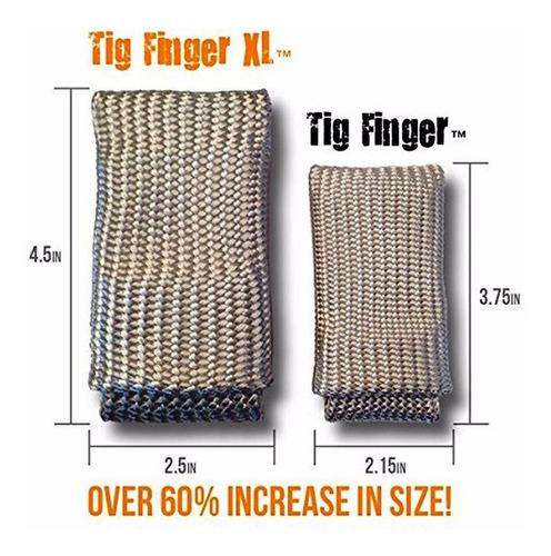 dedal aislante de temperatura para soldar tig/mig grande