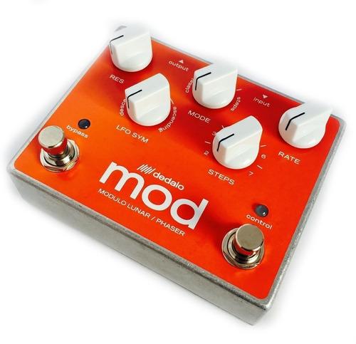 dedalo modulo lunar phaser mod-5 pedal guitarra - cuotas