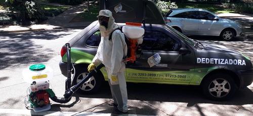 dedetização sanitização - controle de pragas urbanas