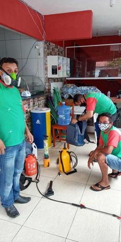 dedetização, sanitização e controle de pragas.