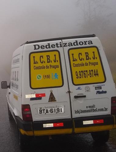 dedetizadora l.c.b.j. controle de pragas