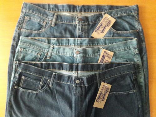 dee dee pantalón mezclilla 44 x 34 jeans caballero talla ext