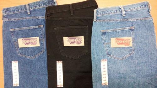 deedee jeans t- 48 pantalón mezclilla caballero talla extra