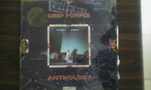 deep purple  anthology  disco de vinil triple