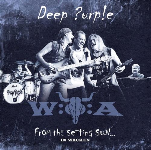 deep purple from the setting sun in wacken cd x 2 nuevo