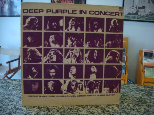 deep purple - in concert (vinil)