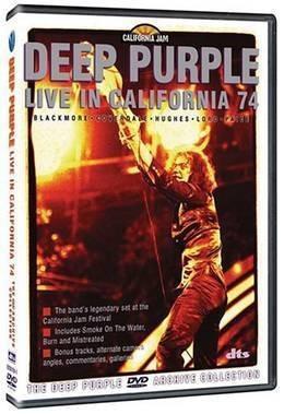 deep purple live in california 74 importado dvd nuevo