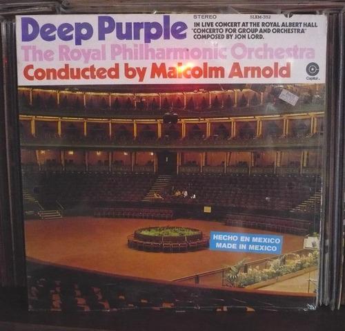 deep purple lp concierto para grupo y orq.