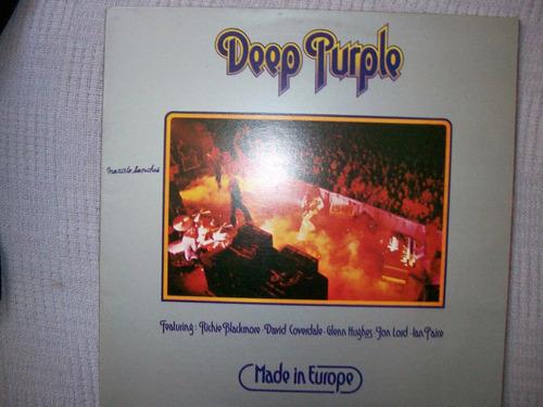 **deep purple **made in europe**