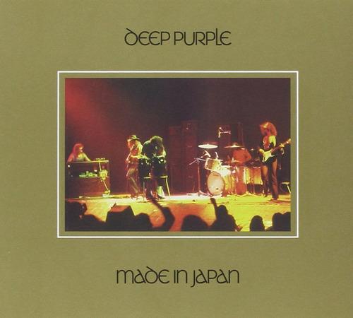 deep purple made in japan deluxe importado cd x 2 nuevo