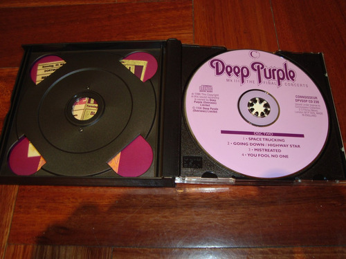 deep purple mark 3 final concerts  2 cd england
