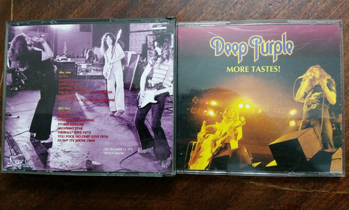 deep purple -more tastes! 2cd japones rainbow black sabbath