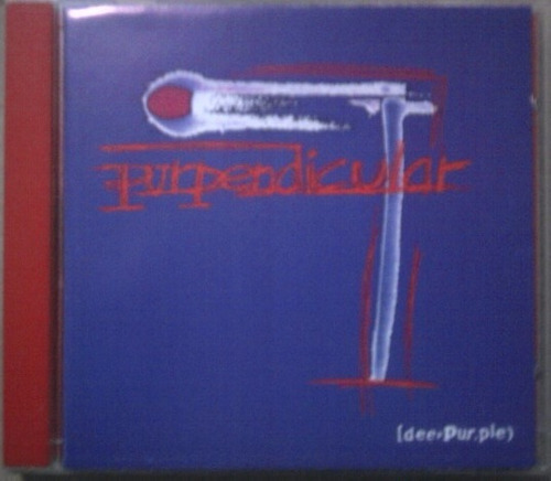 deep purple, purpendincular, cd. en buen estado, con booklet