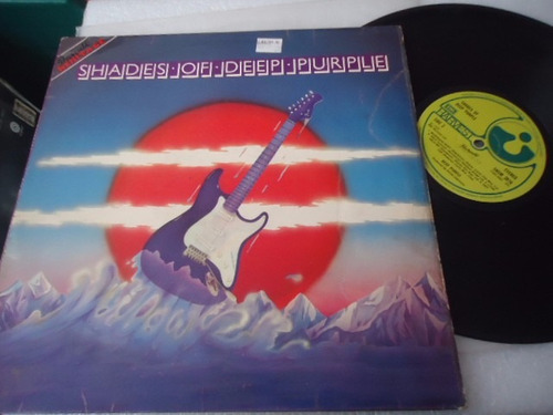 deep purple / shades of deep purple vinyl lp acetato