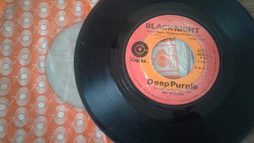 deep purple vinil 7  black night