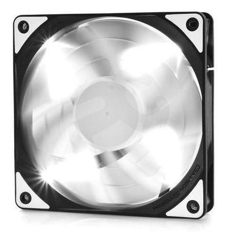 deepcool ventilador 120mm led - white tf series nuevo