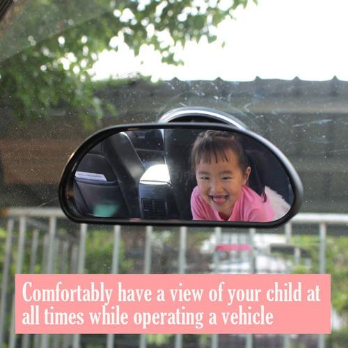 deezio baby car mirror suction cup - espejo retrovisor de