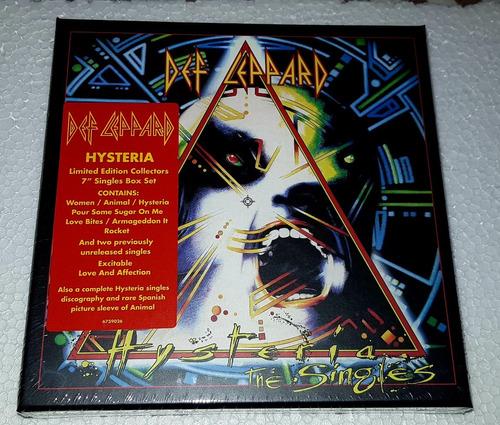 def leppard - hysteria singles box set '7