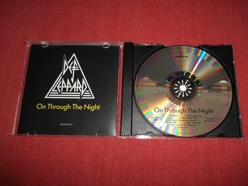 def leppard - on through the night cd usa ed 1990 mdisk