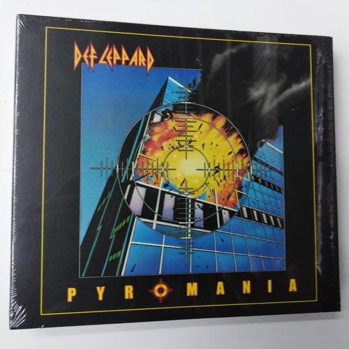 def leppard - pyromania, cd doble