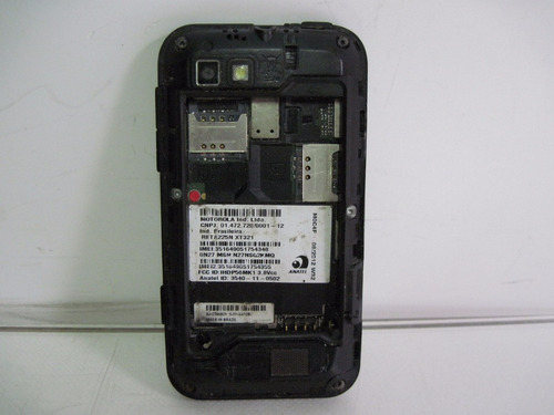 defeito celular defy mini xt321