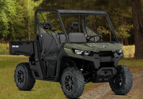 defender hd8  dps can am