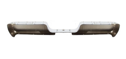defensa de acero trasera cromada dodge ram 1994 - 2002