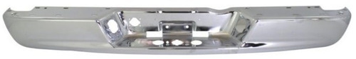 defensa de acero trasera cromada dodge ram 2002 - 2008