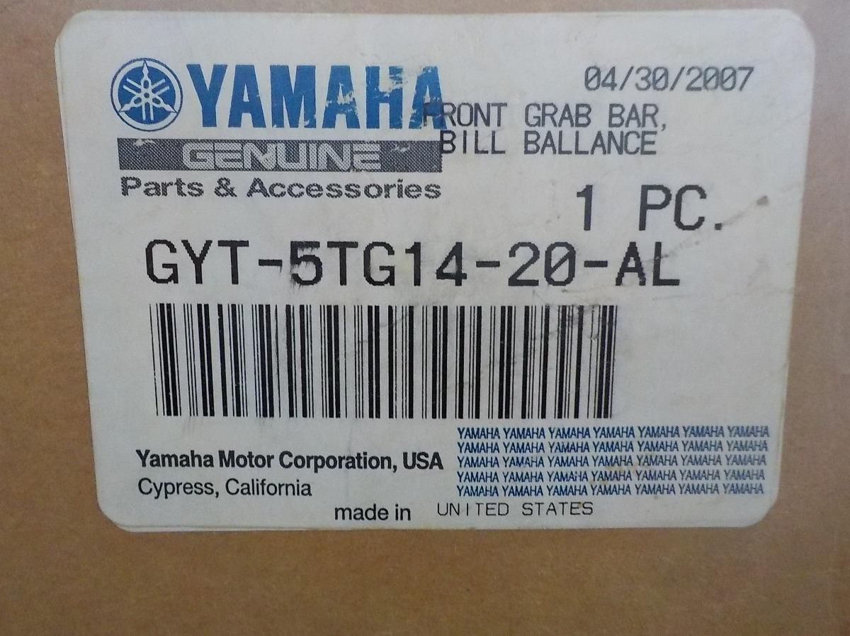 Defensa Del Yfz450 Yamaha Gyt-r *bill Balance* - Killamet
