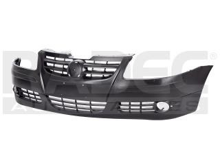defensa delantera volkswagen pointer 2006-2007-2008 c/hoyo