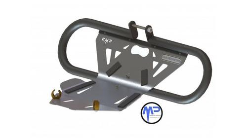 defensa mataperro con cubre cárter integrado motoperimetro®