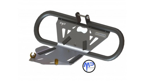 defensa mataperro  cubre cárter integrado motoperimetro®