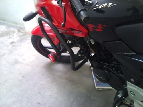 defensa moto pulsar 220 f geniales diseño exclusivo