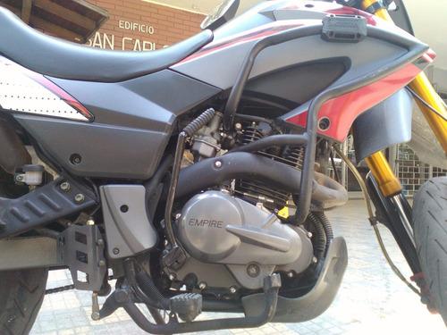 defensa mototech tx 200 carenaje motor empire mataperro