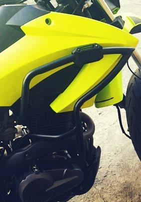 defensa mototech tx 200 instalacion gratis! motor  mataperro