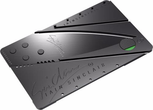 defensa personal navaja portatil plegable billetera camping