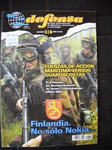 defensa, revistas usadas