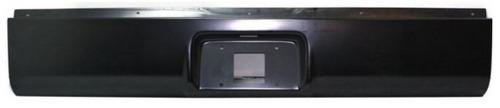 defensa tras roll pan gmc sierra 1999 - 2006 placa y recta