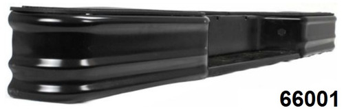 defensa trasera color negro chevrolet s10 / s-10 1982 - 2004