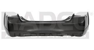 defensa trasera ford edge 2007-2008 c/hoyo p/sensor