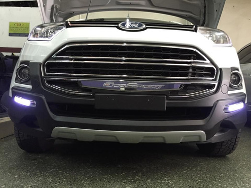 defensa urbana ford ecosport kinetic con luz
