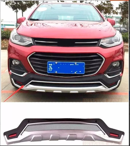 defensas originales chevrolet tracker delantera y trasera