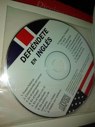 defiendete en ingles..trae cd..frases para hablar..# 206