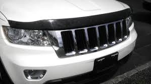 deflector de capot mopar jeep grand cherokee 4g 2011 - 2015