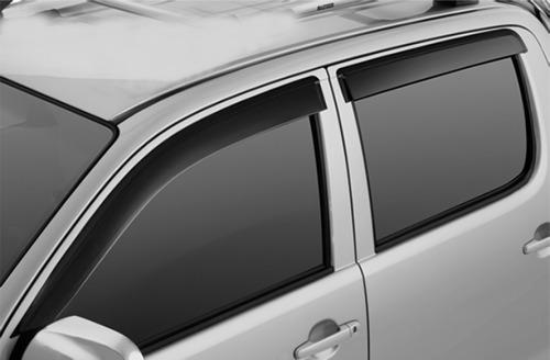 deflectores de ventanas bepo x4 para chevrolet s10 2012+