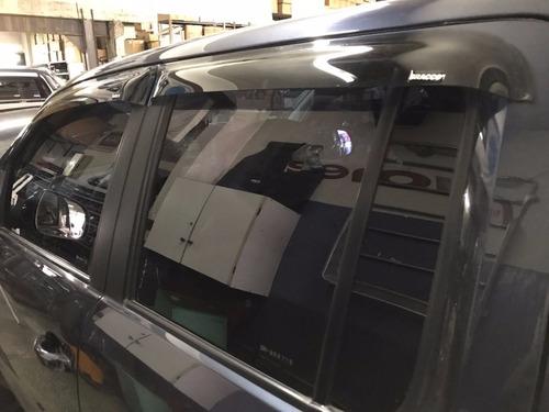 deflectores de ventanas bracco x4 para volkswagen amarok
