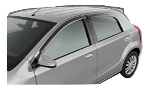 deflectores laterales etios hatchback